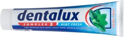 TOOTHPASTES _ DENTALUX - LIDL _ Complex 3 Mint fresh