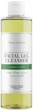 alma-secret-gel-limpiador-facial-equilibrante-y-purificante-con-pepino-enebro